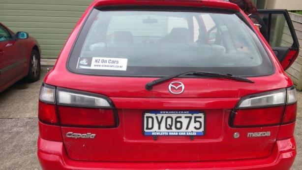 A Mazda based in Tauranga.